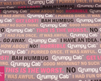GRUMPY CAT words
