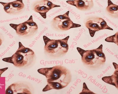 GRUMPY CAT cat beige