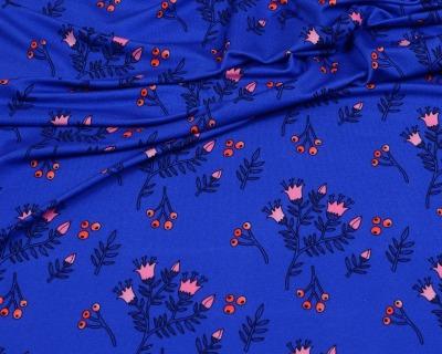 LADYLIKE Kate Viskosejersey blau von HHL