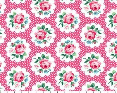 Julias Garden medaillons rosa