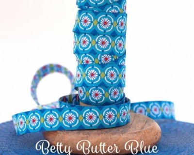 Webband BETTY BUTTER blue