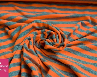Jersey Sreifen neon-orange