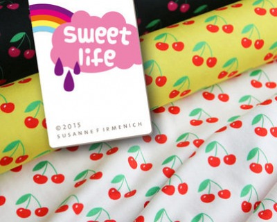 Sweet Life Cherries gelb von Hamburger