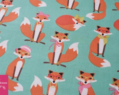Fabulous Foxes mint by RKaufman
