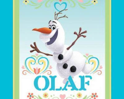 Disney FROZEN Dancing Olaf PANEL