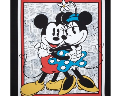 Disney MICKEY & MINNIE PANEL