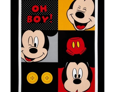 Disney MICKEY Oh boy PANEL
