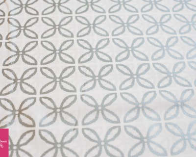 Glitz clover weiß-silber by M Miller