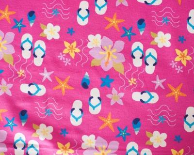 Beach Flip Flops Bw-jersey Pink