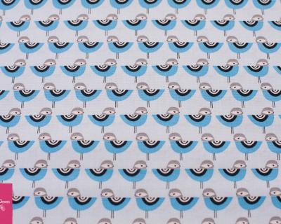 SUZYS MINIS birds blau by Robert