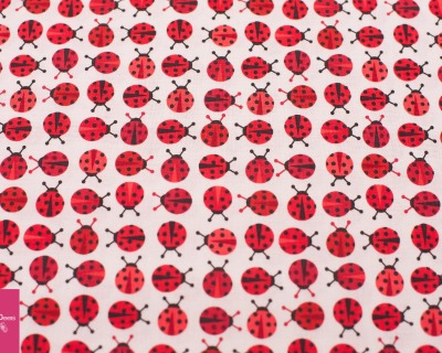 URBAN ZOOLOGIE MINIS ladybugs red