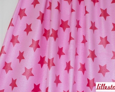 Raincoat stars rosa/himbeer von lillestoff