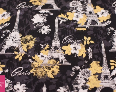 Paris Midnight by David Textiles