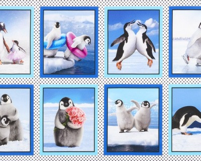 Panel PERKY PENGUINS by Robert Kaufman