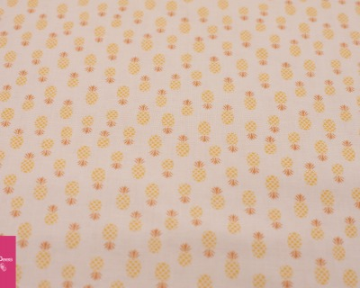 FLAMINGO FEVER pineapple yellow