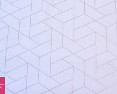 MIXOLOGY LUXE geo weiß-silber