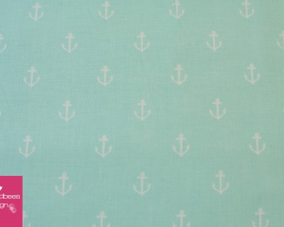 ANCHORS AWAY mint by Sarah Jane