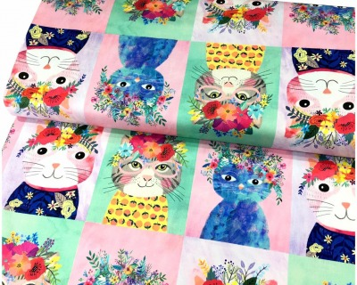 Floral pets by blend fabrics