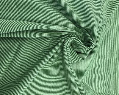 Baumwoll-Jersey Ringel grün-hellgrün