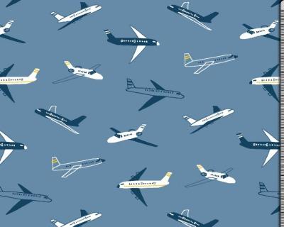 FLIEGER blau BW-JERSEY