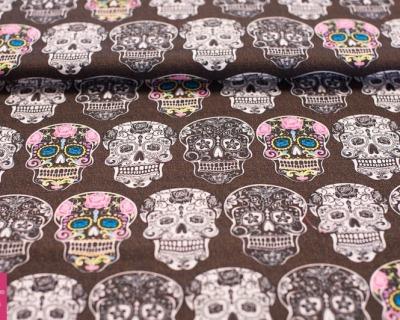 CALAVERTA skulls by David Textiles