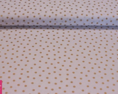 MIXOLOGY LUXE dots weiß-gold