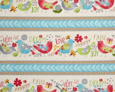 Believe you can birds stripe by