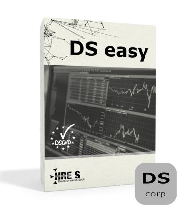 DS easy die Datenschutz-Selbstservicelösung Jahreslizenz corp