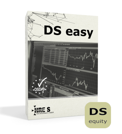 DS easy die Datenschutz-Selbstservicelösung Jahreslizenz equity