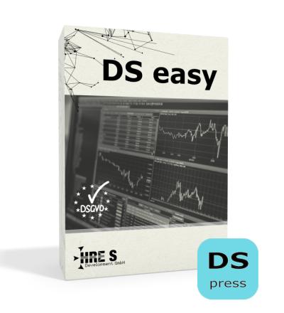 DS easy die Datenschutz-Selbstservicelösung Jahreslizenz press