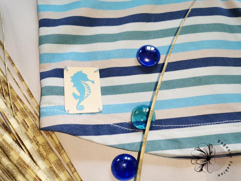 Plottdatei Seaside Seahorse Labels 3