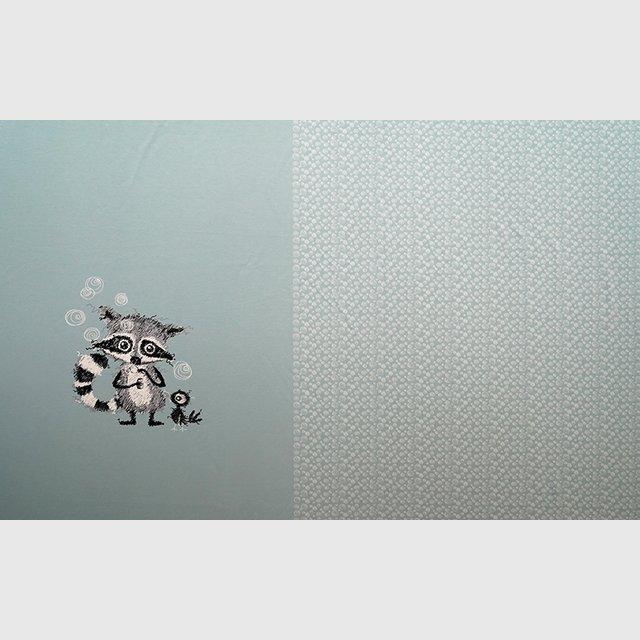 BioBiojersey Racoons Panel gletscher 3