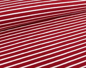 Stoffpaket Einsatzfahrzeuge BioQualität rote Streifen 3
