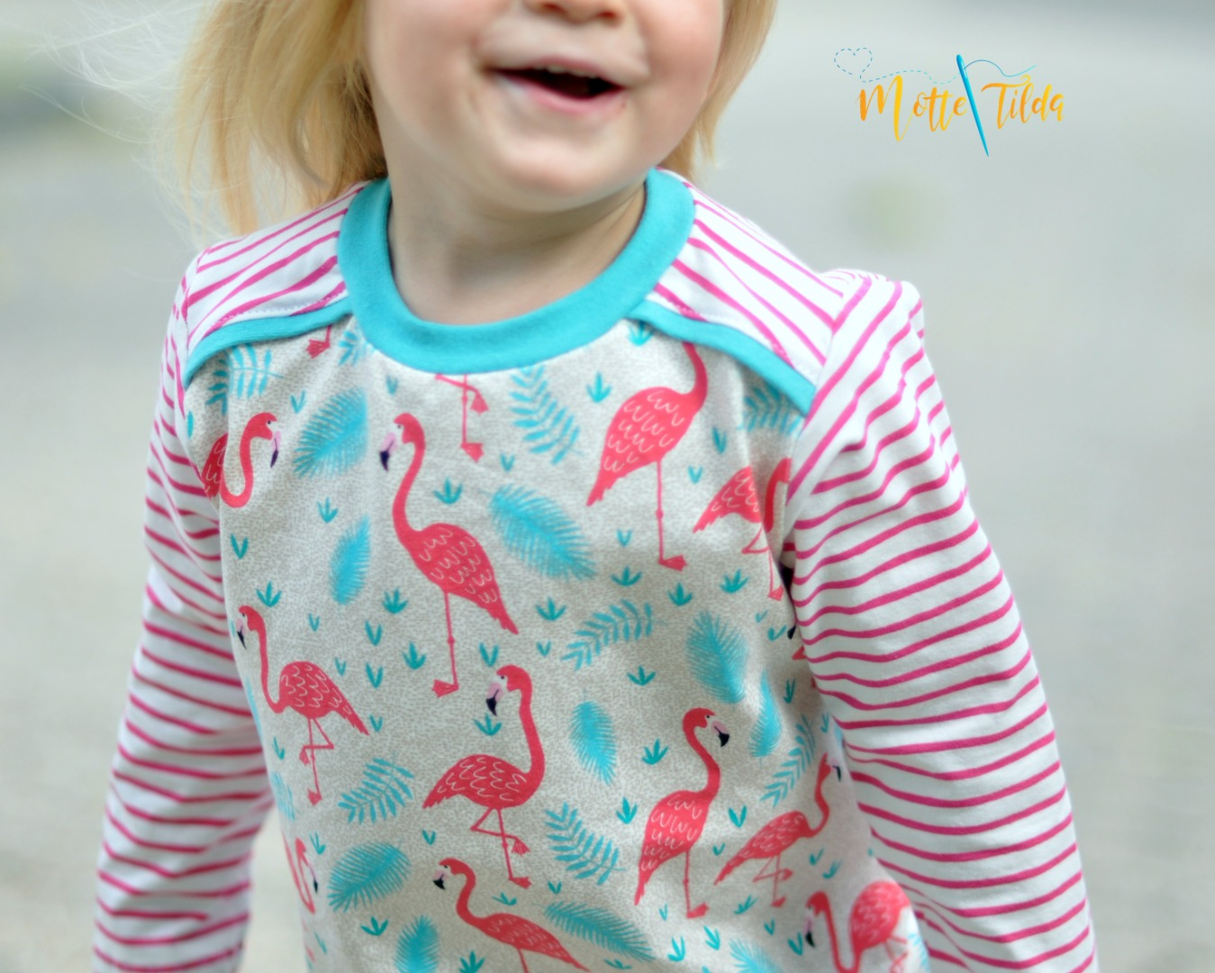 Stoffpaket Little Charly Flamingos 2