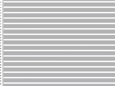 Streifen Hellgraugrau Weiß