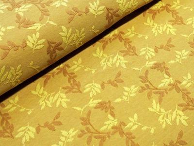 Bio-Relief-Jacquard Shiny Leaves messing