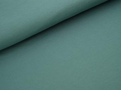 Biojersey Unistoff - Staubgrün