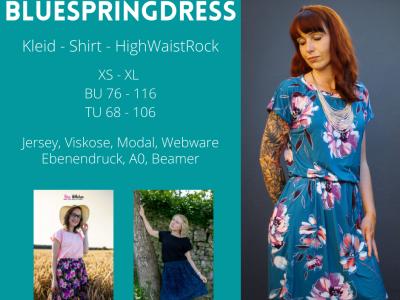 Ebook BlueSpringDress - Fadenblau