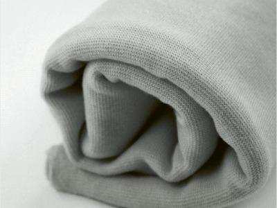 BIO-Bündchen grau
