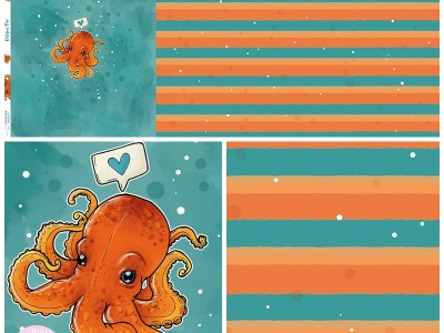 Bio-Jersey Panel Oktopus