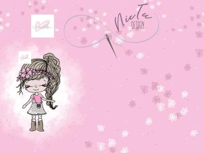Mädchen Rosa