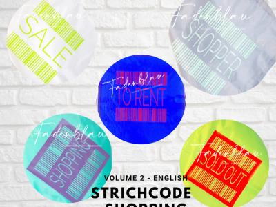Strichcode Shopping Volume2 - Plotterdatei