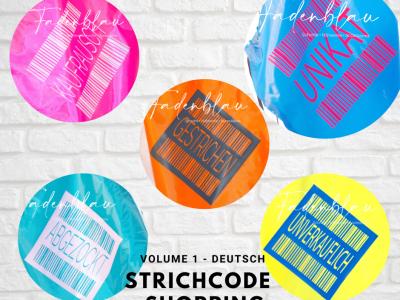 Strichcode Shopping Volume1 - Plotterdatei