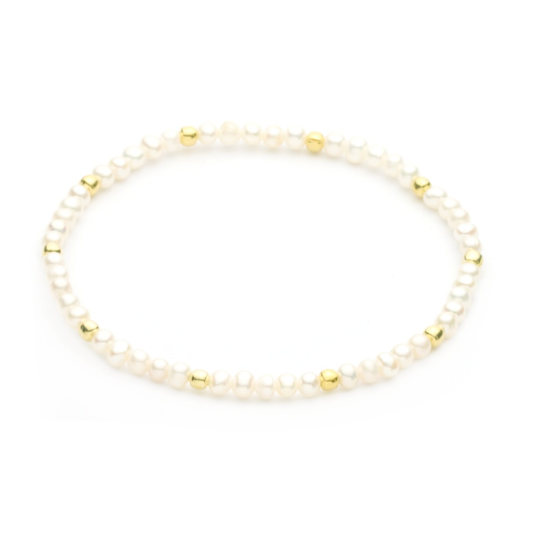 Perlenarmband aus echten Zuchtperlen Qualität AAA