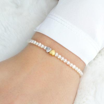 Armband Geschenk Freundin Seelenschwester aus echten