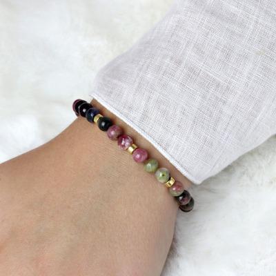 Armband aus Turmalin schönes Geschenk zum