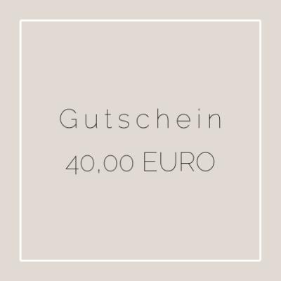GUTSCHEIN - Gutschein mit schöner Grußkarte