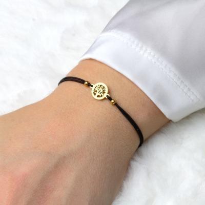 Filigranes Armband mit einem kleinem Lebensbaum
