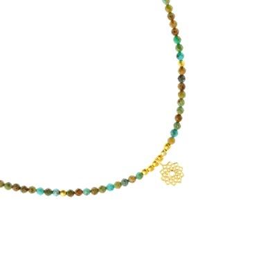 Filigrane Halskette für Damen aus afrikanischem