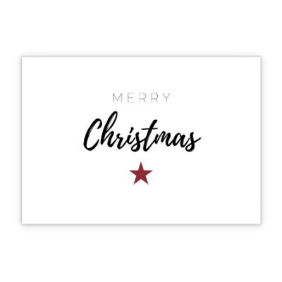 Grußkarte - Merry Christmas